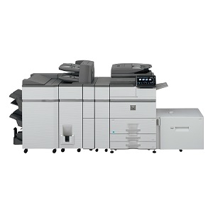 Sharp MX-M654 high-speed, monochrome, high-volume printer, copier, scanner, fax, mfp