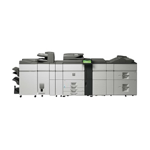 Sharp MX-6240N high-speed, high-volume, color printer, copier, mfp, scanner, fax, advanced finishing