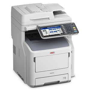 Oki Data MPS4242mc+ Color MFP, Copier, Printer, Scan, Fax