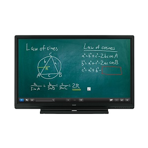 Sharp Aquos Board PN-C605B interactive touch screen display