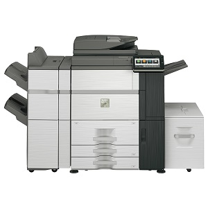Sharp MX-7580N MFP, copier, printer, scanner, fax - high-speed/volume, advanced